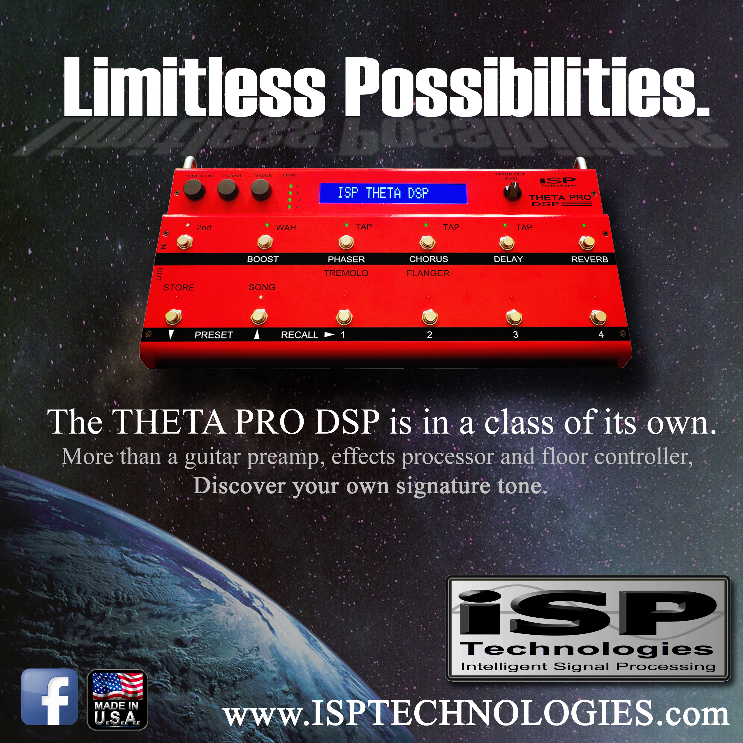 Theta Pro DSP in outer space
